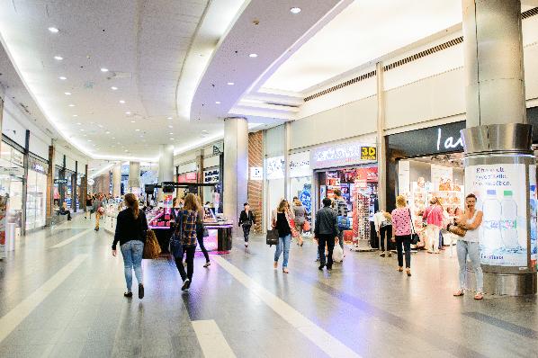 ROI RetailNext - shopping centre - In Store Analytics by RetailNext