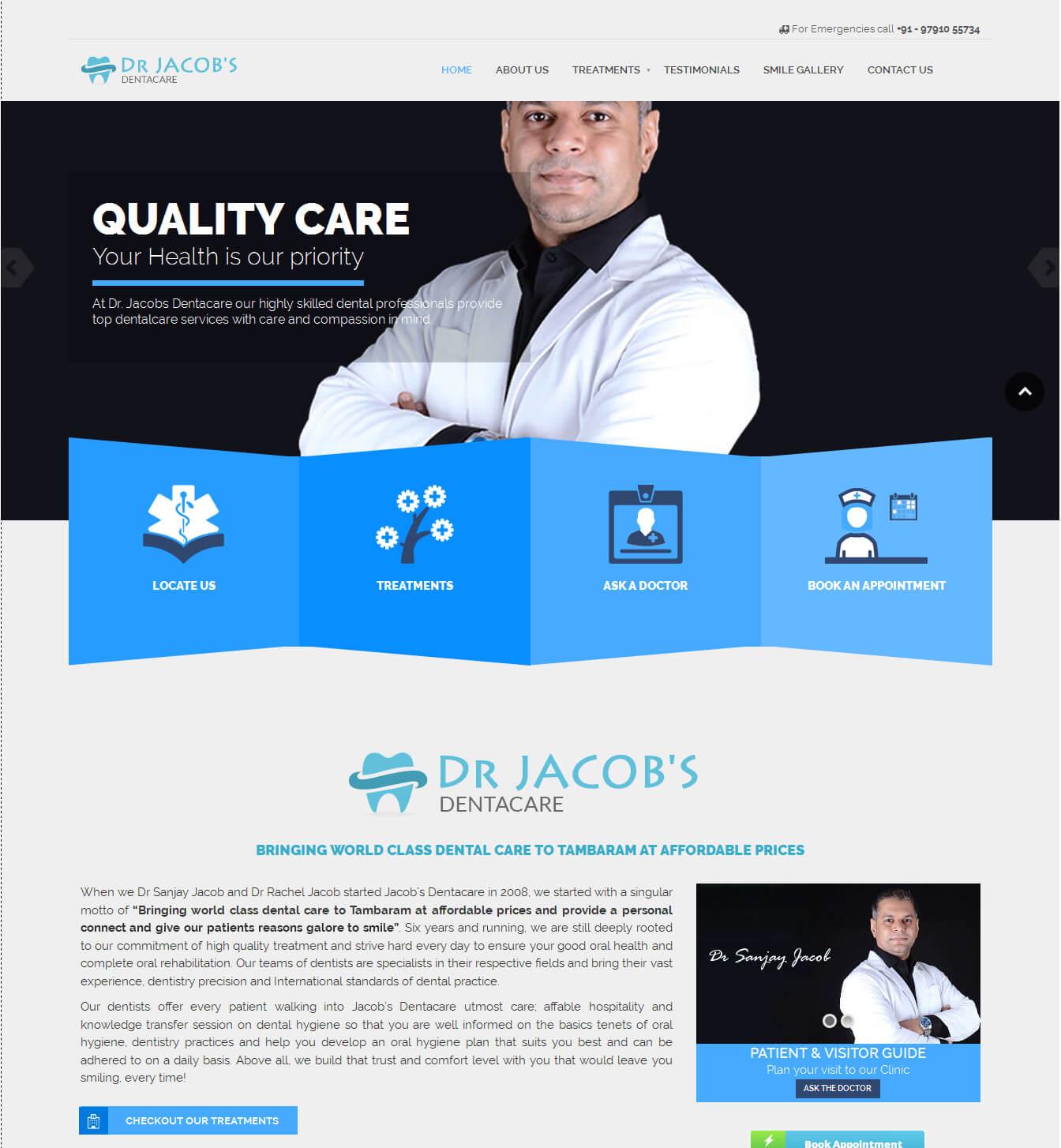 - drjacobs portfolio - Websites