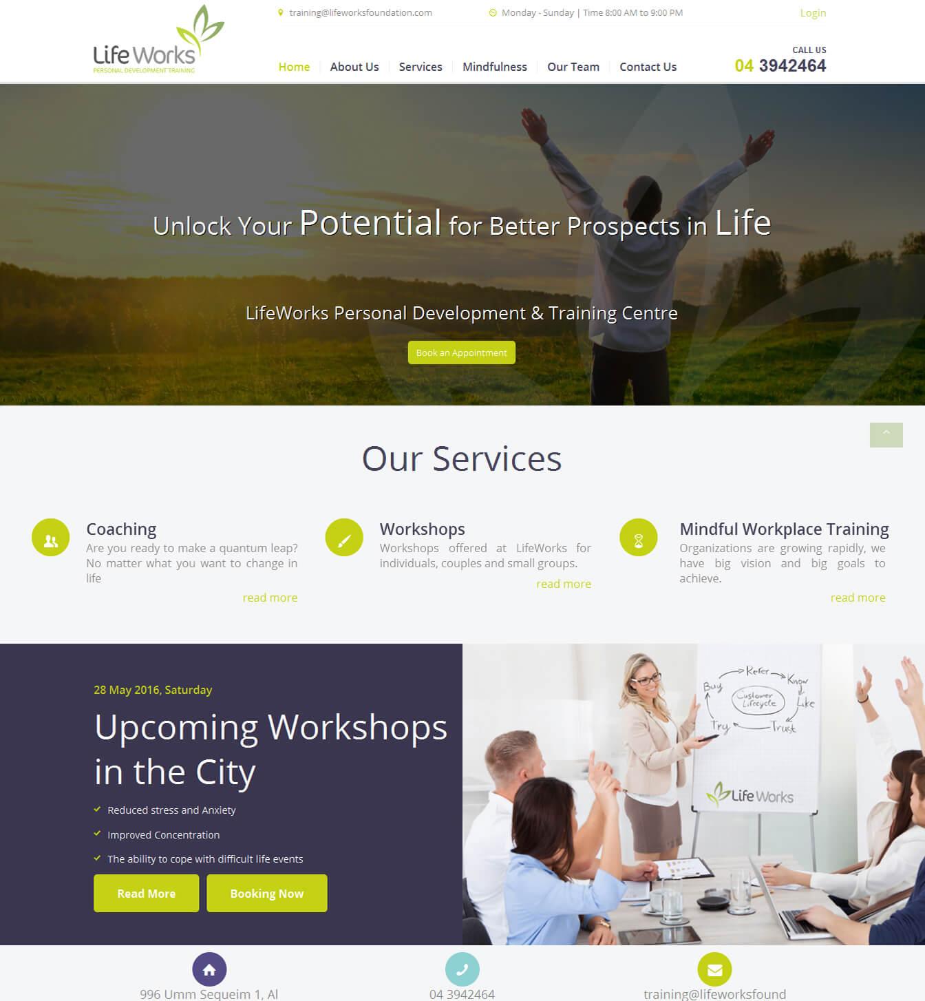 - lifeworks portfolio - Websites