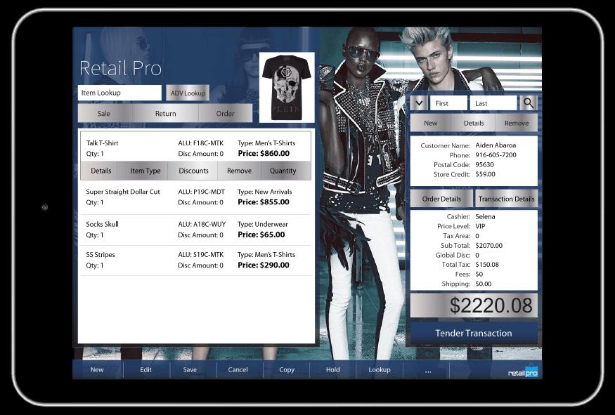 Inventory management Retail Pro - Retail Pro Prism - Retail Pro – Speciality Retail Management Solution