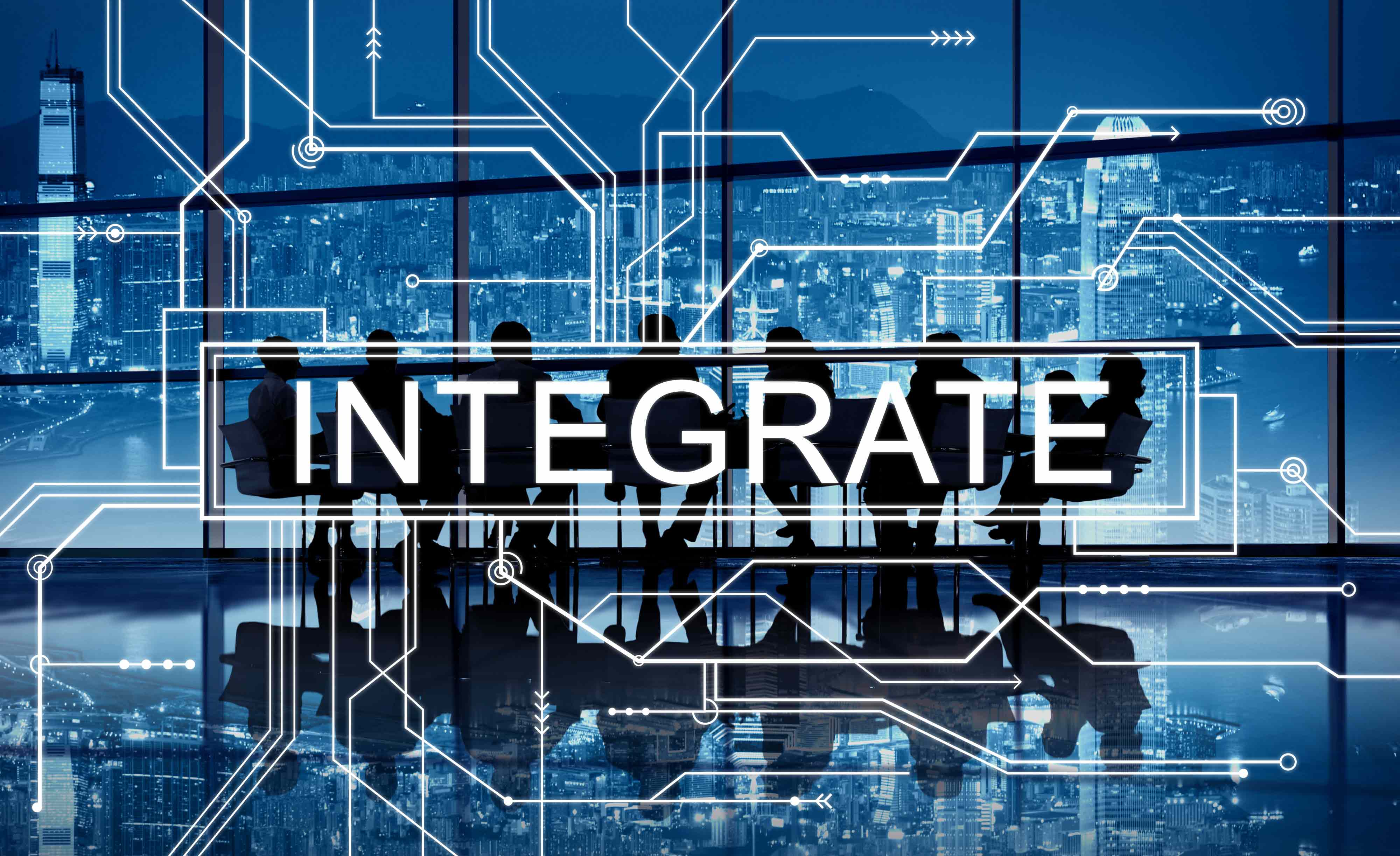 Integrate WFM Employee management software - integrate circuit board graphics concept 1 - Things to keep in mind while buying an employee management software